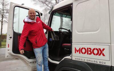 We maken kennis met Jeroen: Chauffeur en logistiek medewerker MOBOX.